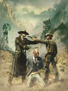 Call of Juarez: Bound in Blood artwork: Conflict