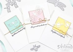 Sylwia Schreck - Cards with the Dragonfly Dreams Bundle - Artisan Blog Hop