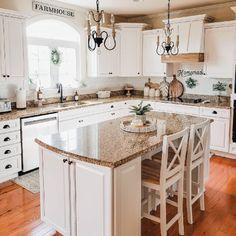 Beautiful Kitchen Transformation - Modern Farmhouse Kitchen Decor - Dream Kitchens