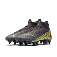 online retailer 7be15 cc444 Nike Mercurial Superfly 360 Elite SG-PRO Anti-Clog Soft-Ground Football  Boot - Grey