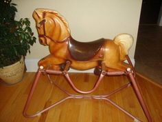 Vintage toy spring horse Wonder Horse Deluxe circa My little brother lived on one of these. Vintage toy spring horse Wonder Horse Deluxe circa My little brother lived on one of these. My Childhood Memories, Childhood Toys, Sweet Memories, Vintage Tupperware, Vintage Fisher Price, Cabbage Patch Kids, Barbie Dream, Honda Cbr, Nostalgia