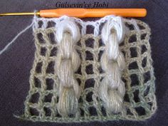 The crochet chain stitch - wow...  tutorial in pictures!
