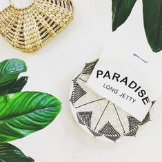 LIS X PJS Paradise Tee. White Tee with Black Embroided and printed lettering. Beauty Boutique, Fashion Boutique, Outfit Shop, Girls Wardrobe, White Tees, Pjs, Paradise, Australia, Lettering