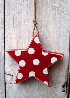 Cute Wooden Star....