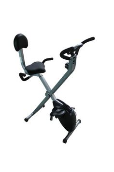 Sunny Health & Fitness Folding Recumbent Bike, Gray $129.00 (save $40.00)