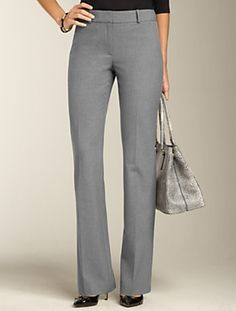 Talbots - Heritage Fit Lindsey Bootcut Pant   Full Length   Misses