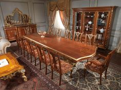 Dining room Louis XVI chairs