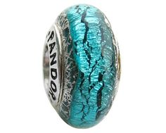 My Beautiful Ruins -  Pandora cracked ocean turquoise bracelet bead