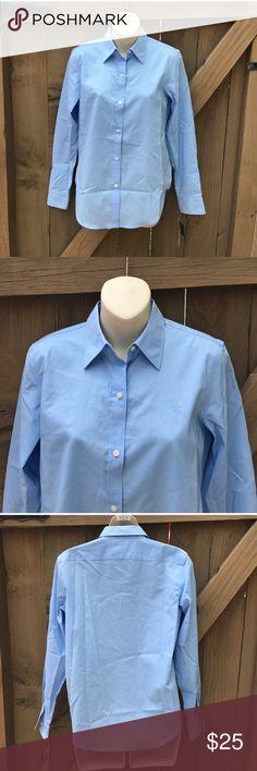 NWT Ralph Lauren blue oxford button down size XS NWT size XS Ralph Lauren blue oxford button down: LOCATION: BIN 8 Ralph Lauren Tops Button Down Shirts