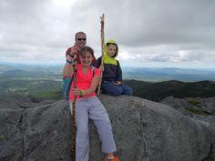 The top of Mount Monadock in Jaffrey NH
