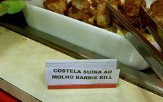 <b>Pudim de leite CONDENADO, sonho de FALSA e molho BARBIE KILL <3</b>