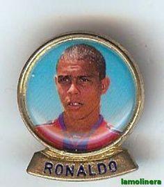 77-Pin Jugador Futbol Club Barcelona RONALDO