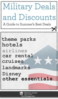 Start planning for the summer now with these deals and discounts. Many of them are good all year long in 2013.