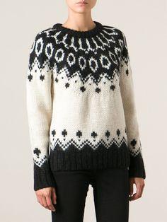 #goldengoosedeluxebrand #goldengoose #sweater #patternedsweater #womensweater #ggdb #fashion www.jofre.eu
