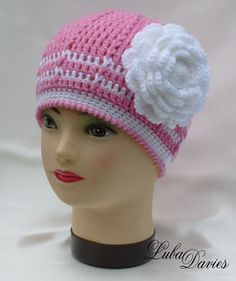 Easy as pie hat... Free crochet pattern!
