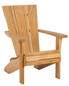 Curved Back Adirondack Chair Plans | Projects to Try | Pinterest ...