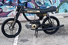 Gallery of Puch-Magnum Moped Motorcycle, Moped Scooter, Vespa, Scrambler Moto, Bike Engine, Honda Cub, 50cc, Custom Bikes, Peugeot