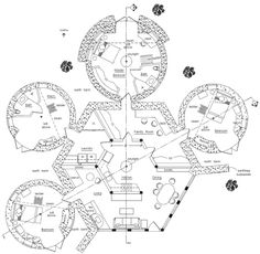 images about Who said I can    t build a hobbit hole  on    earth lodge   domes floorplan