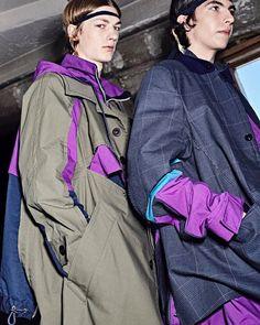 """Made in Japan""のアイテムを中心に、日本のブランド商品を楽しむブログ。 Summer Collection, Backstage, Rain Jacket, Windbreaker, Spring Summer, Photo And Video, Jackets, Instagram, Dresses"