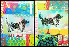 basset hound atcs | by Steph Dodson