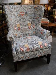custom fabric - love the colors