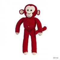 #1) - CHIMP Soft Toy in Red Dots - @cuckoolandcom  - Unique Gift Shop #dreamkidsbedroom #competition