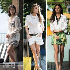 Street Style: todos os looks de pós-praia da semana Qual o seu preferido?