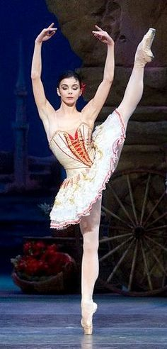 Natalia Osipova in Don Quixote  -photo by Gene Schiavone