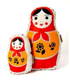 Babushka Doll Set Red