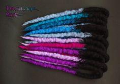 Dreadlock Madness #dreads #dreadlocks #boho #hippie #ozora #hairstyle
