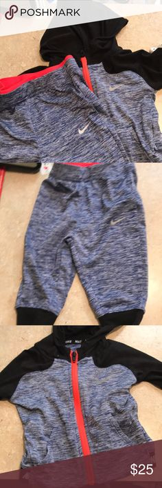 Nike sweat suit Good condition Nike Matching Sets