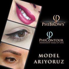 Brows, Eyeliner, Make Up, Lipstick, Model, Instagram Posts, Beauty, Eyebrows, Makeup