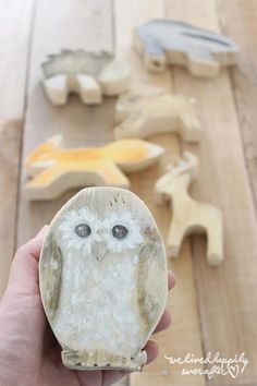 DIY Jig Saw Wooden Animal Blocks