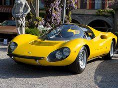 1967 Ferrari 206 S Dino Berlinetta Competizione