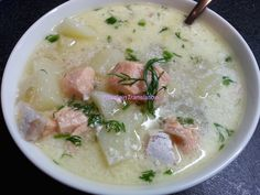 Foodie in Translation: Lohikeitto o zuppa di salmone!