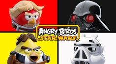 Angry Birds Star Wars | Matching & Learning Colors