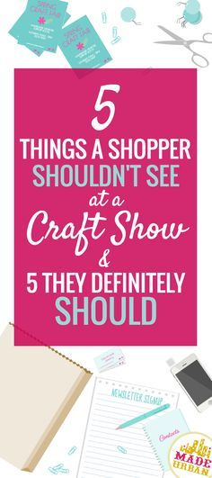 """Craft shows are definitely a more relaxed atmosphere and that's what makes them such a unique shopping experience. Shoppers get to connect and have an engaging conversation with the owners of a small business. Although this setting allows the more casual side of business to come through, you still want to be sure you keep a professional vibe and … Continue reading """"5 THINGS A SHOPPER SHOULDN'T SEE AT A CRAFT SHOW"""""""