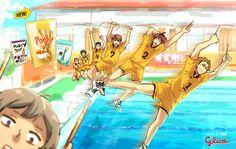 「ライバル高校でエビバデ!ポッキー!!+条善寺高校」/「KKCH」の漫画 [pixiv]