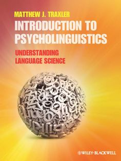 41 best psycholinguistics reading list images on pinterest book introduction to psycholinguistics understanding language science this textbook offers a cutting edge introduction to fandeluxe Image collections
