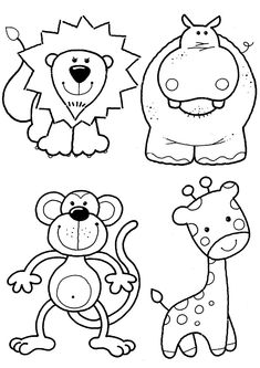 Baby Zoo Animals Coloring Pages. 20 Baby Zoo Animals Coloring Pages. Felt Craft Inspiration Animals for Baby Quilt [already Zoo Animal Coloring Pages, Printable Coloring Pages, Coloring For Kids, Coloring Pages For Kids, Coloring Books, Coloring Sheets, Coloring Worksheets, Quilt Baby, Applique Patterns