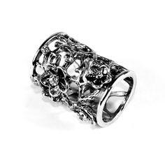 Spona-na-šatku-Kvetiny-strieborná Rings For Men, Wedding Rings, Engagement Rings, Jewelry, Retro, Fashion, Enagement Rings, Moda, Men Rings