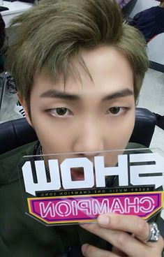Rap Monster ❤ SHOWCHAMPION Selfie #BTS #방탄소년단