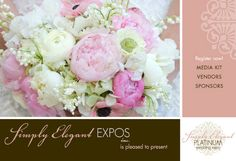 Flowers, Reception, Hair, Cake, Pink, White, Green, Ceremony, Dress, Red, Wedding, Purple, Orange, Blue, Brown, Makeup, Bridesmaids, Invitations, Black, Yellow, Inspiration, Board, Gold, Bridal, Jewelry, Silver, Shoes, Shows, Expos, Simply elegant expos