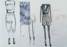 quick sketches and collecting ideas / developing designs #3