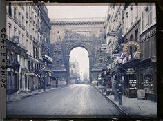 paris couleur 1900 albert kahn 141 Photos de Paris en couleur en 1900  photo histoire featured bonus