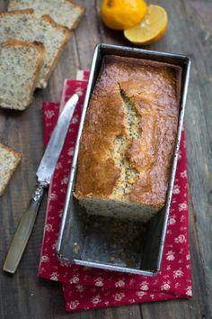 Cake au citron bergamote et pavot (huile et graines de chia) | Jujube en cuisine