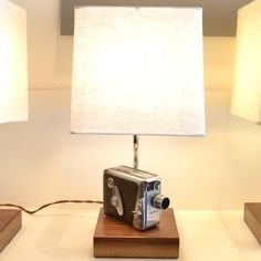 8mm Keystone Bel Air Lamp // via Hemingway + Pickett