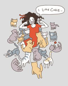 cake and kittens. holla.