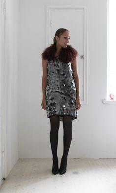 Giant paillettes. you feelin it | Lily.fi