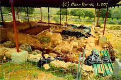 Año 2007: Detalle de las Termas de la Mansion Romana Madrid, Mansions, Romans